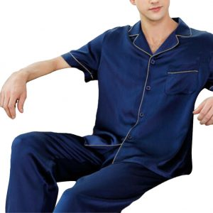 silk pajamas men
